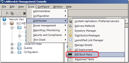 How to Capture a Windows 7 image with LANDesk Management Suite 9 0