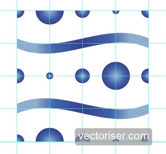 Vectoriser motif vectoriel Illustrator 05 1