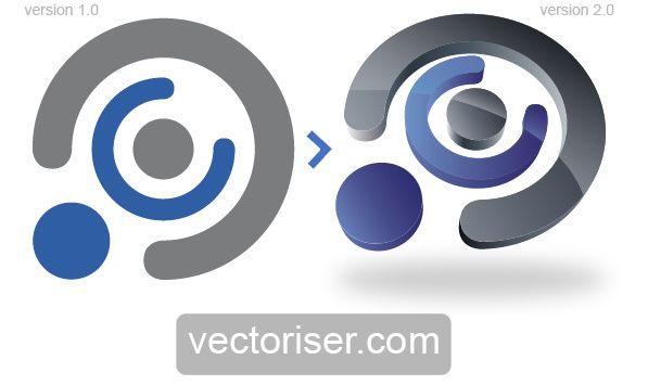 Vectorisation Illustrator Logo First