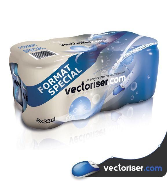 vectoriser produit packshot 013
