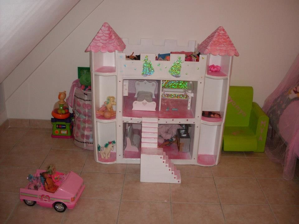 album chateau de barbies