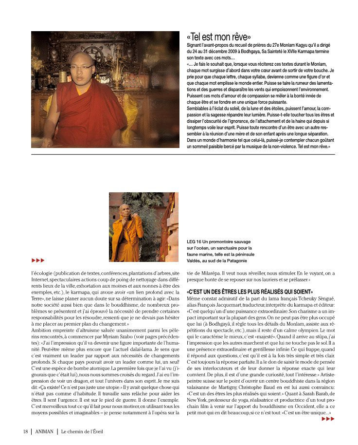 Grand Reportage en INDE  pour le magazine ANIMAN dec. 2009 janv 2010.Photos Chris Eggs.Texte Jef Gianadda