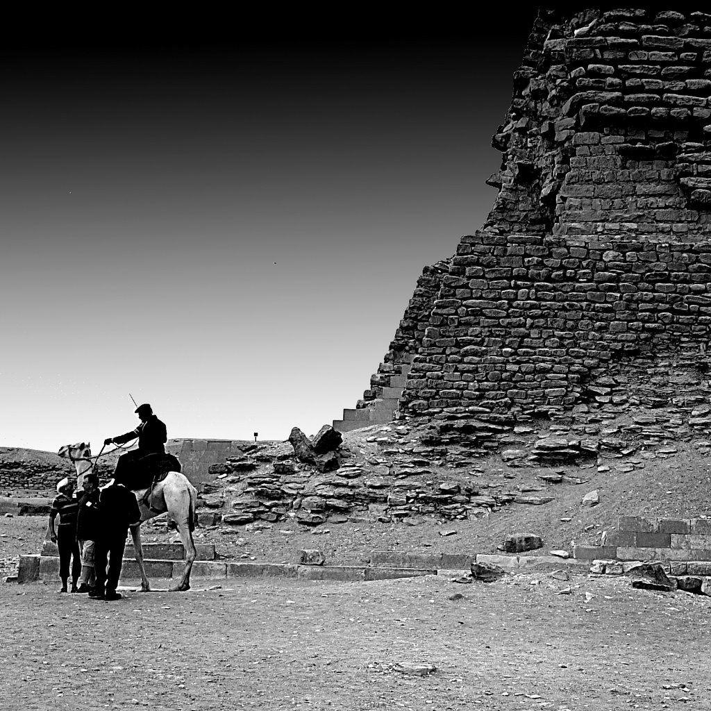 REPORTAGE EGYPTE-BW