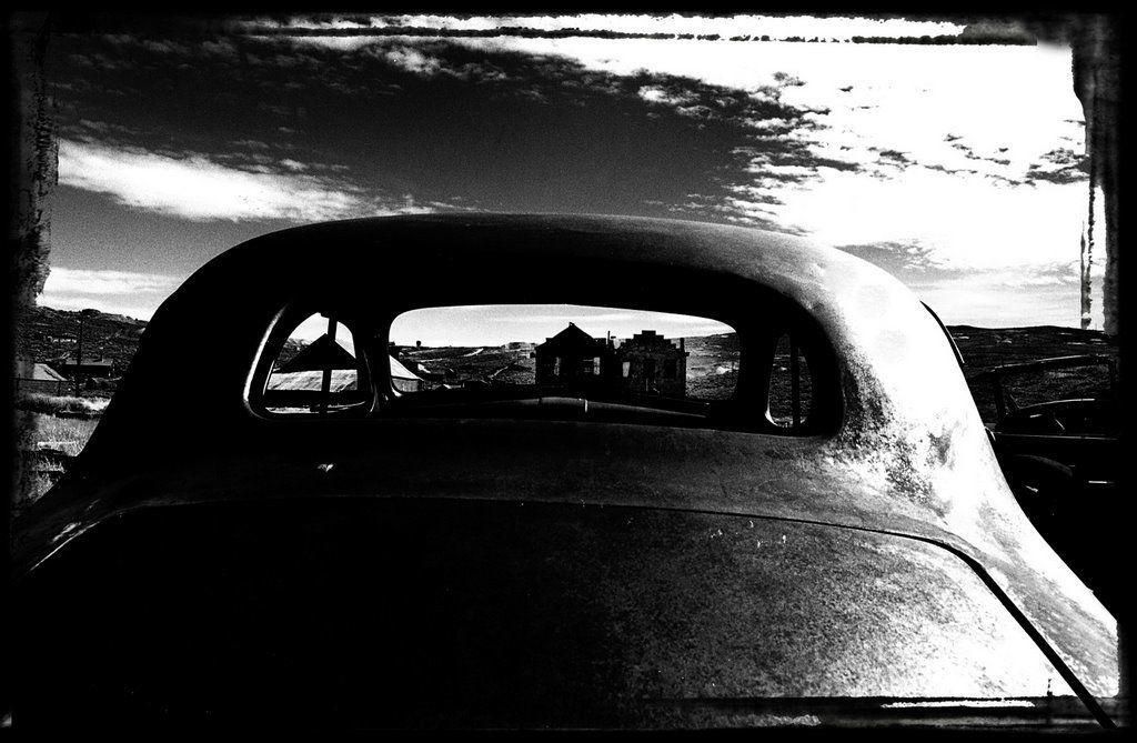 Ville Fantôme à 3300metres d'altitude, au confin nord est de la Californie
