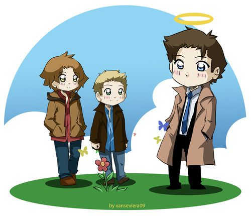 Supernatural_while_waiting____by_xanseviera_large.jpg