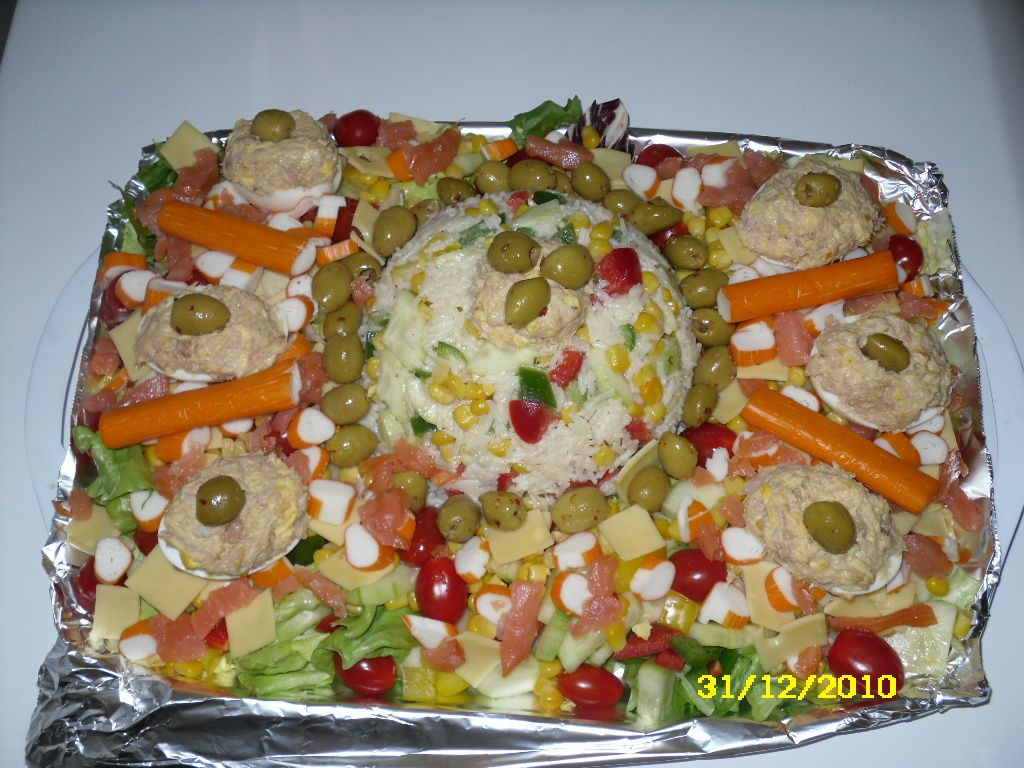 Id es entr es froides salades for Entree simple originale