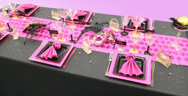 Décoration de table Carnaval