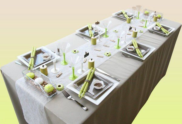 Decoration de table mariage decoration mariage astuces for Decoration de table zen bambou