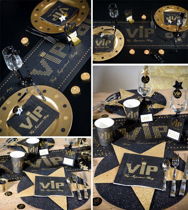 Un chemin de table pour un mariage de star !