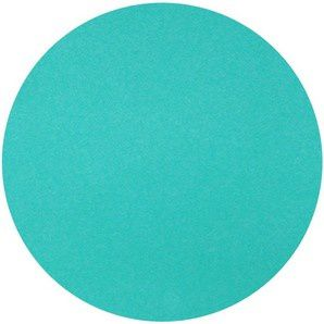 Nappe ronde Surlys turquoise, 240cm