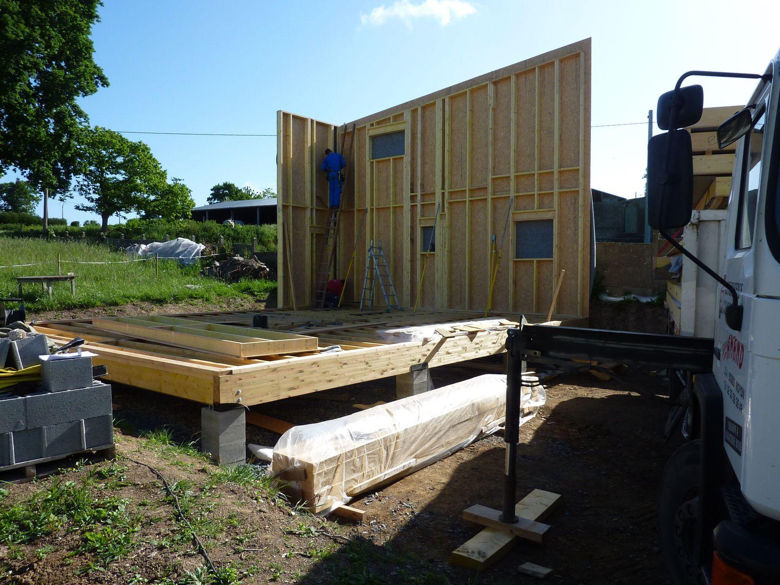 Maison ossature bois avantage rapidite notre for Avantage maison ossature bois