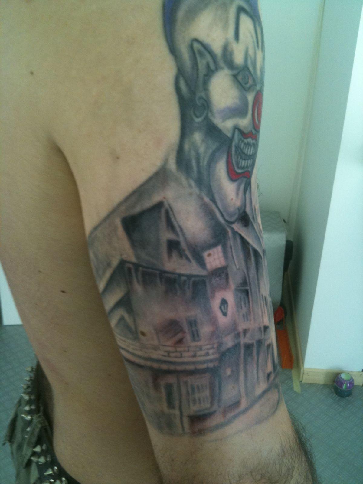 Pin perna maori free handcria o familia king tattoo for Voodoo tattoo club