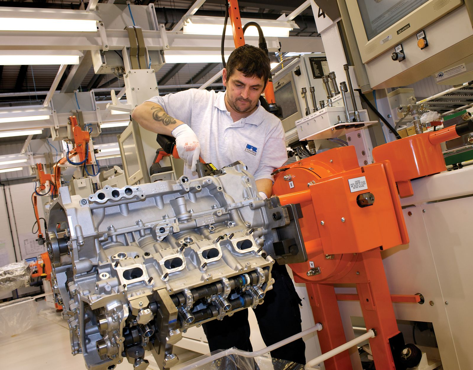 New Engine New Assembly Facility Cutting Edge Processes