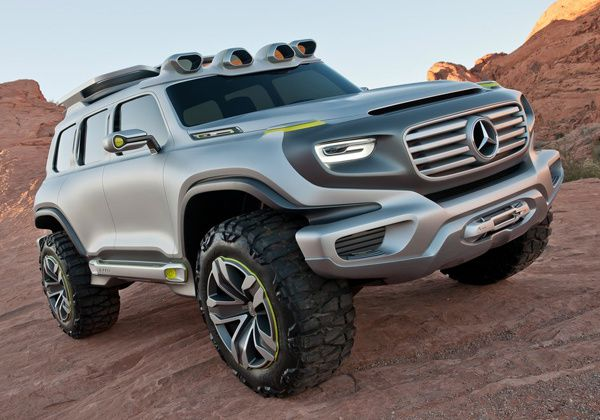 mercedes ener g force concept 2012 off road generation. Black Bedroom Furniture Sets. Home Design Ideas