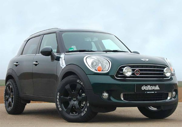 mini countryman by delta 4x4 off road generation. Black Bedroom Furniture Sets. Home Design Ideas