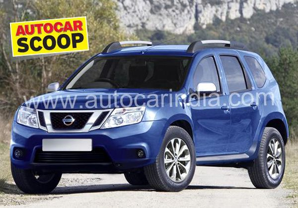 futur nissan terrano sur la base du dacia duster off road generation. Black Bedroom Furniture Sets. Home Design Ideas