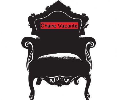 Chaire vacante