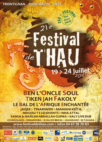 AFFICHE THAU 2011