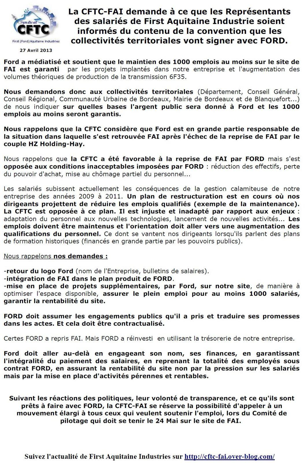 Demand convention 27 04 2013