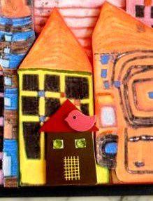 Carte 3D Hundertwasser détails 1