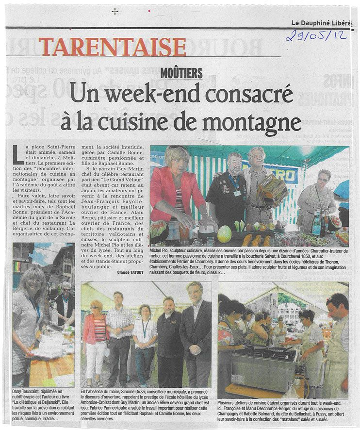 Rencontre internationale de cuisine de montagne