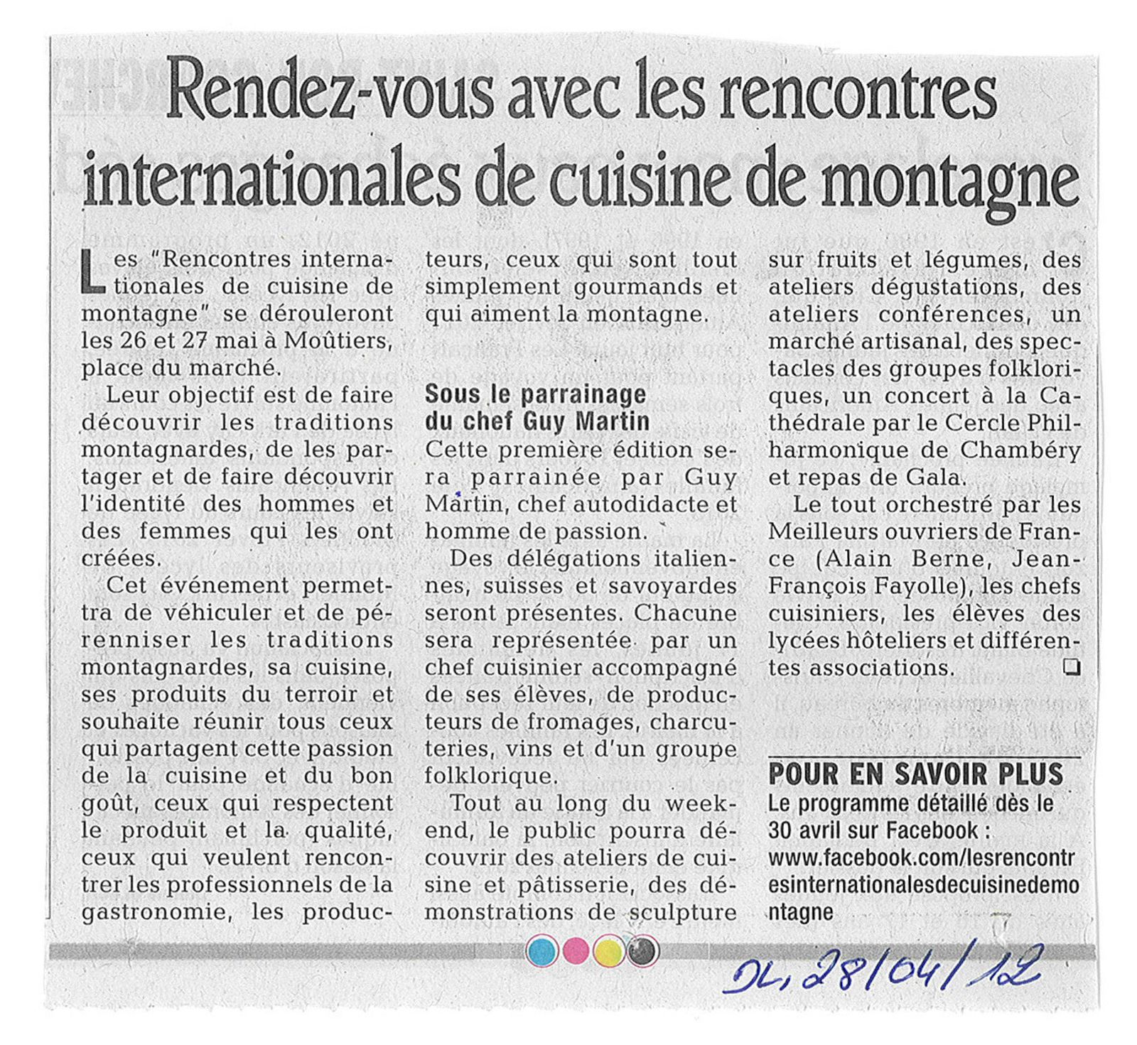 Rencontre internationale