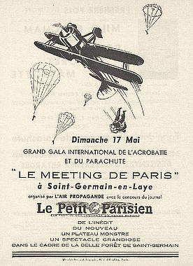 Meeting Saint Germain 17 mai Grand gala aérien international