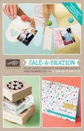 catalogue promotions Sale a Bration Stampin'Up! 2014