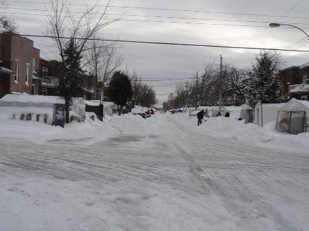 Montreal hiver