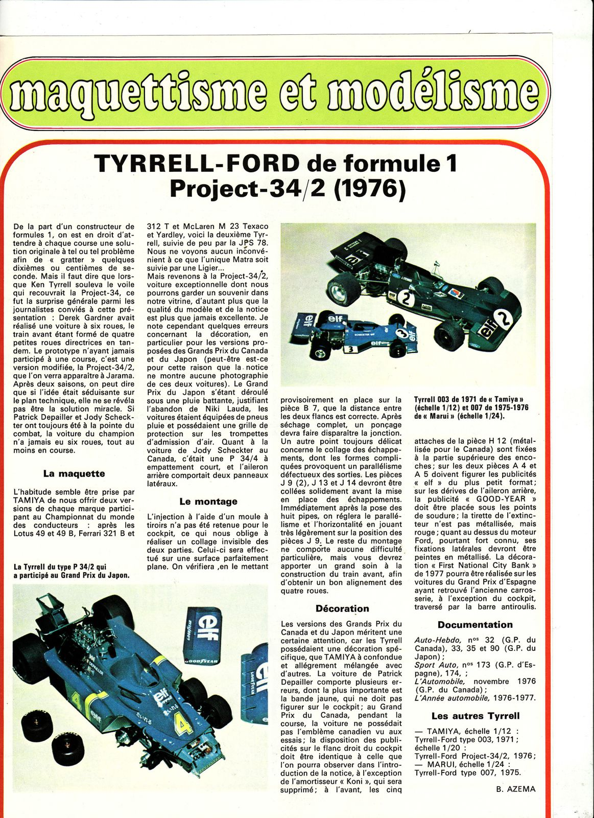 auto Tyrell Ford F1 project 34.2 1976 00