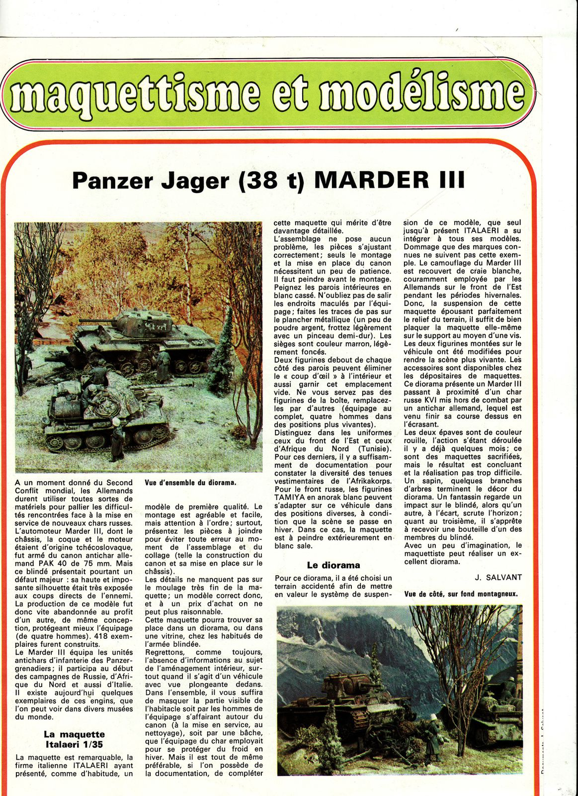 char PanzerJager (38T) Marder lll 00