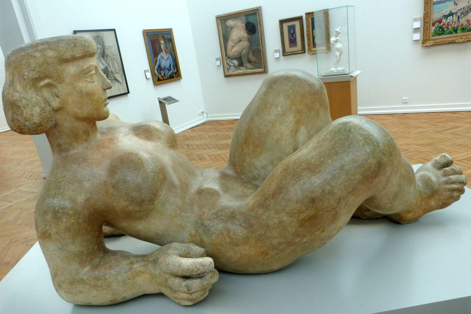 Septembre 2014, musée des beaux-arts, Bordeaux : Morgane, Redi, Raju