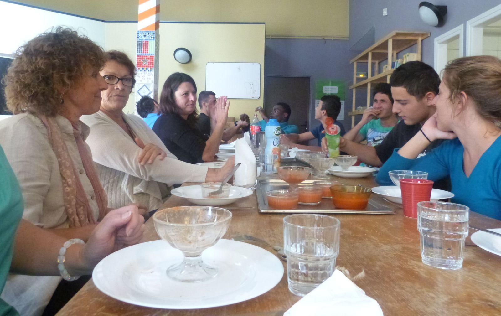 repas de cloture, juillet 2014