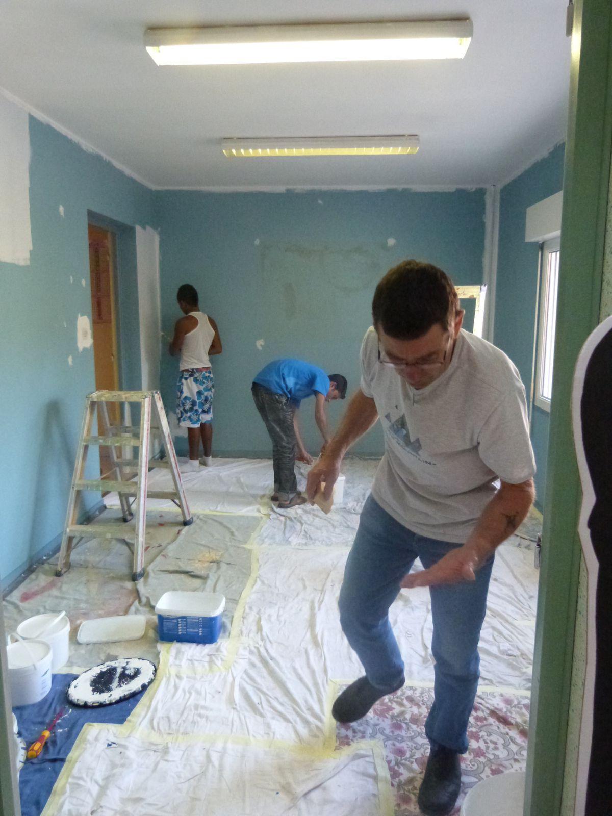 chantier-école SAVA, foyer 3F, juillet 2013