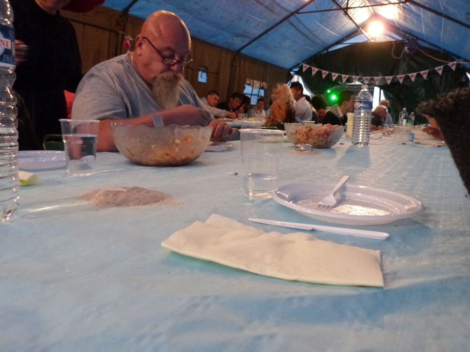 La traditionnelle fête de l'été du foyer 3F à Bergerac, juin 2013