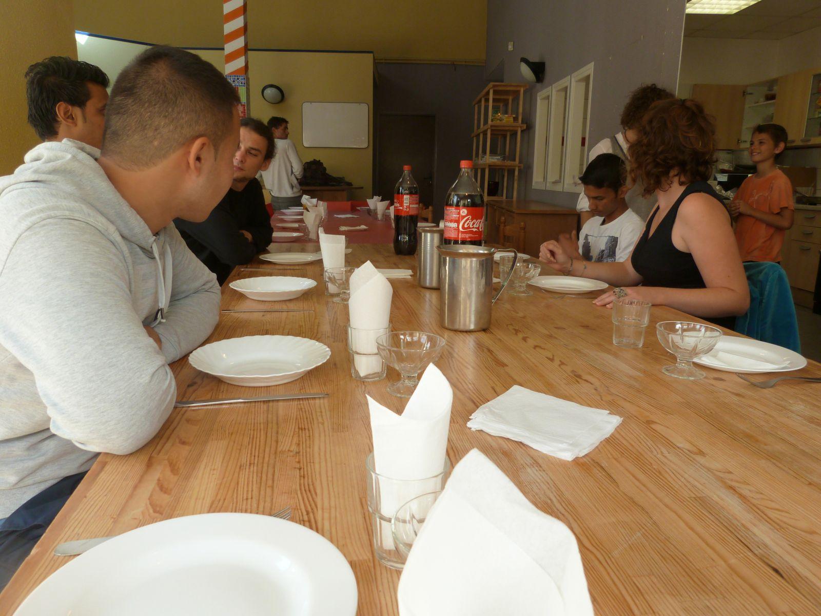 Repas mexicain, octobre 2013