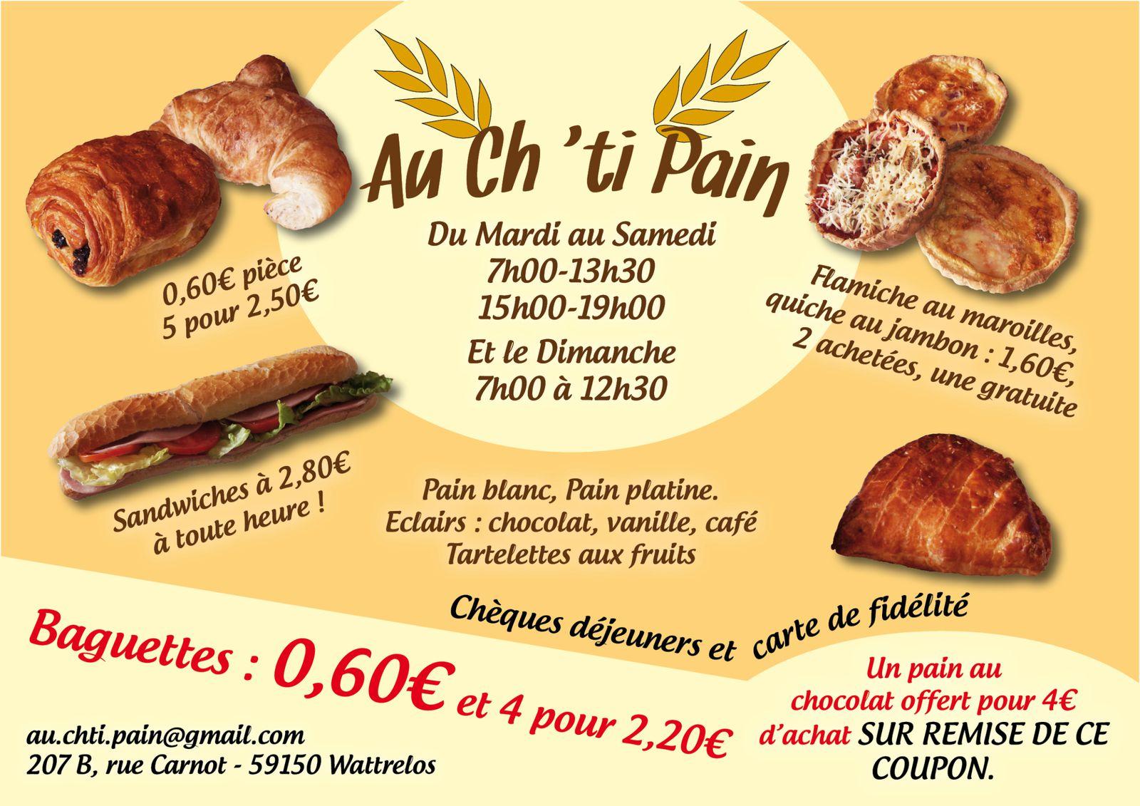 flyer  u0026quot au ch u0026 39 ti pain u0026quot