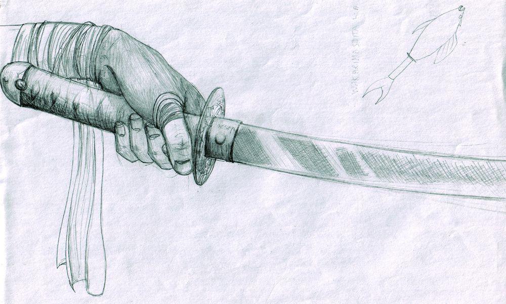 Cr me de la cr me ici vous trouverez quelques unes de mes cr ations artistiques ou graphiques - Dessin de sabre ...
