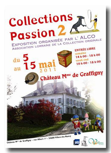 affiche Collections Passion v4
