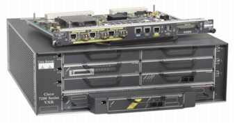 The Cisco 7200 VXR Router Series with Network Processing En