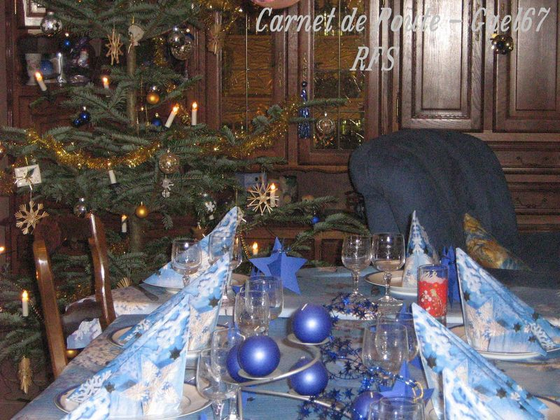 Id e d co table noel le blog pour no l for Presentation de table de noel