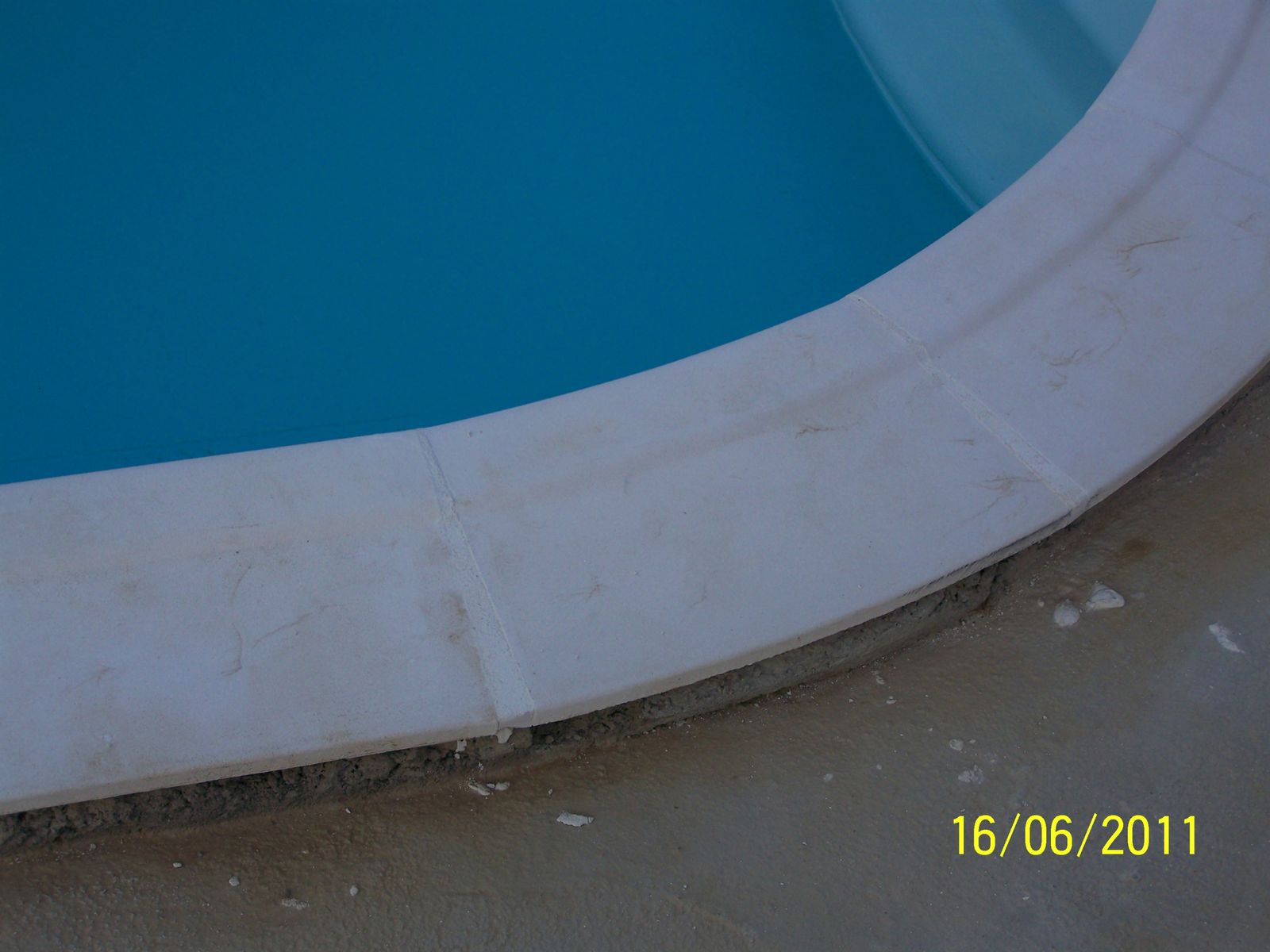 Joints des margelles montage piscine waterair for Joint margelle piscine