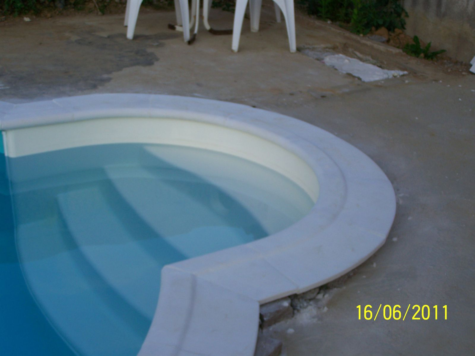 Joints des margelles montage piscine waterair - Margelle piscine waterair ...