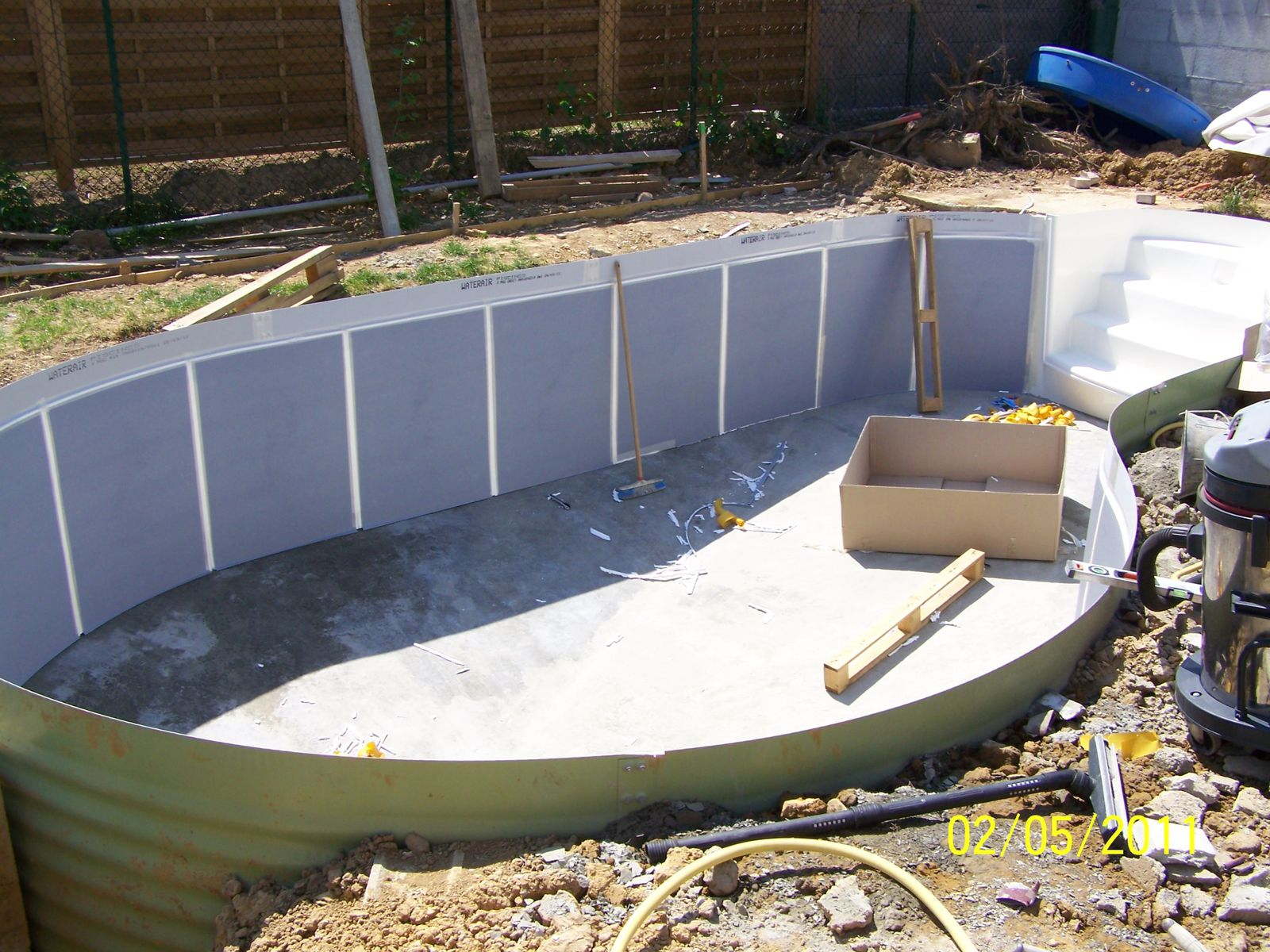 Pin forum montage piscine waterair on pinterest for Waterair piscine