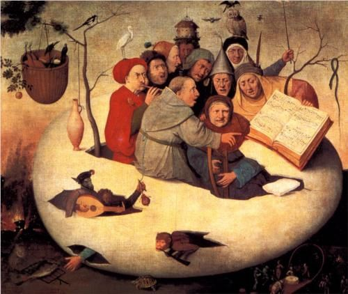 Concert in the Egg Hieronymus Bosch