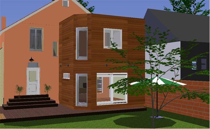 le projet d 39 extension le blog de m157. Black Bedroom Furniture Sets. Home Design Ideas