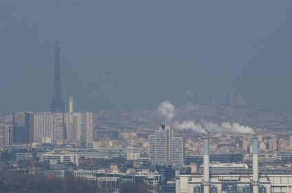 pollution air paris