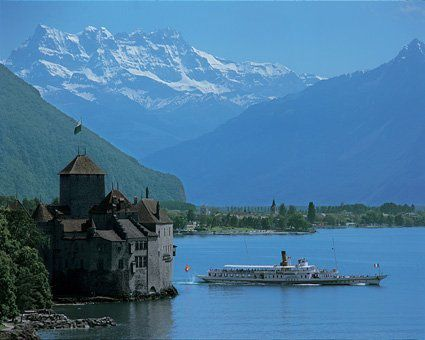 Chillon et Dents du Midi