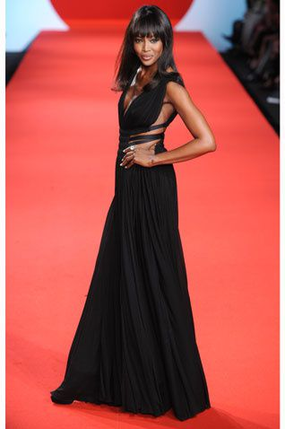 Naomi Campbell Cannes Japon