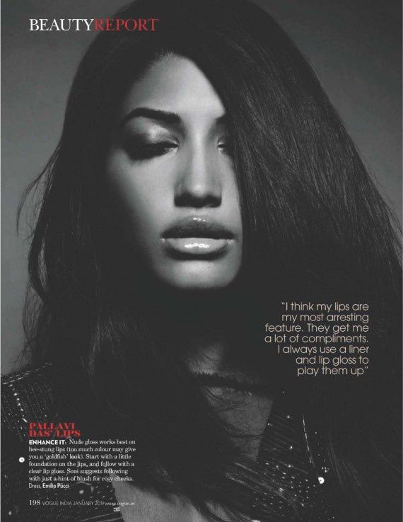 Different Strokes Vogue India January 2011 - 2